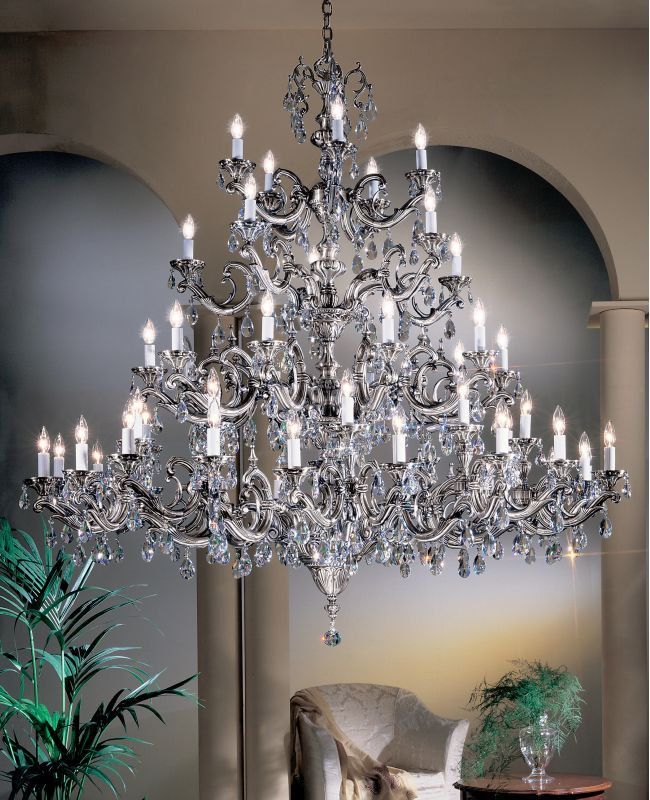"Classic Lighting 57250-MS 66"" Crystal Chandelier from the Princeton II Sale $23157.00 ITEM: bci1306643 ID#:57250 MS SC :"