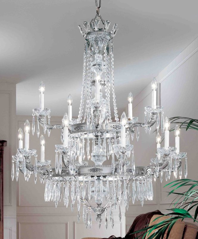 """Classic Lighting 57315-MS 52"""" Crystal Chandelier from the Duchess Sale $5778.00 ITEM: bci1306376 ID#:57315 MS I :"""