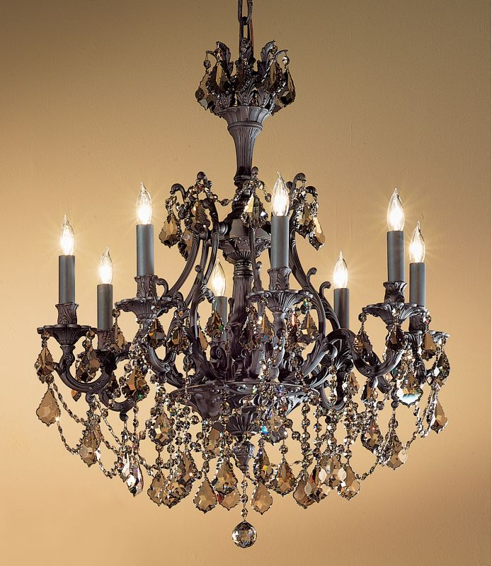 """Classic Lighting 57358-AGB 31"""" Crystal Chandelier from the Majestic Sale $5880.60 ITEM: bci1306389 ID#:57358 AGB SGT :"""