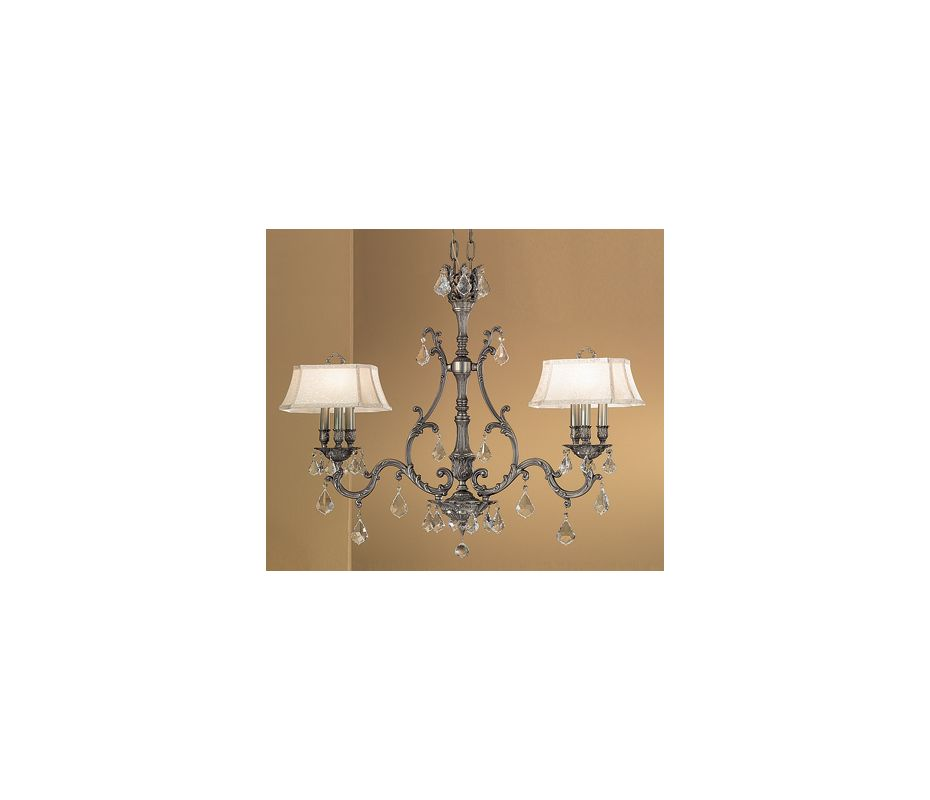 "Classic Lighting 57361-AGP 32"" Crystal Island-Billiard from the"