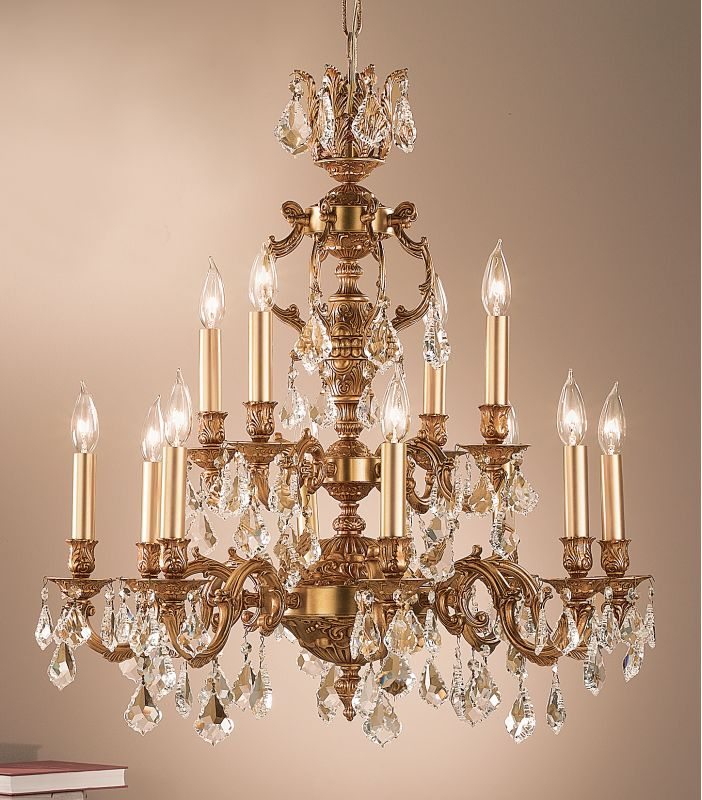"Classic Lighting 57379-FG 31"" Crystal Chandelier from the Chateau Sale $2930.40 ITEM: bci1305598 ID#:57379 FG CP :"