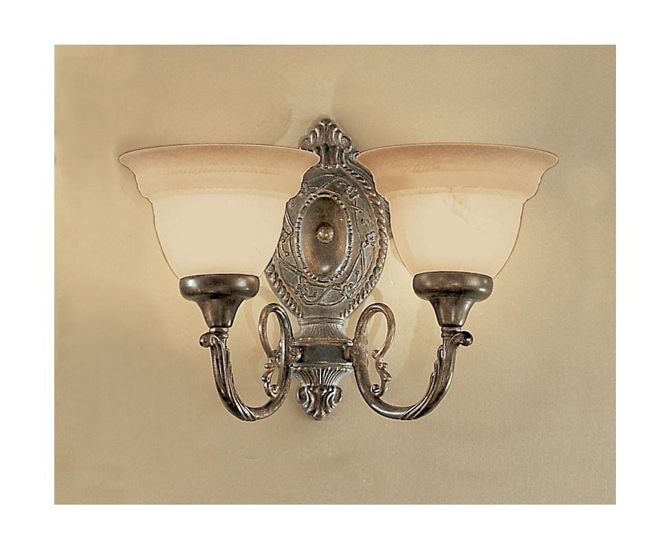 "Classic Lighting 68101 10"" Cast & Glass Semiflush from the Yorkshire"