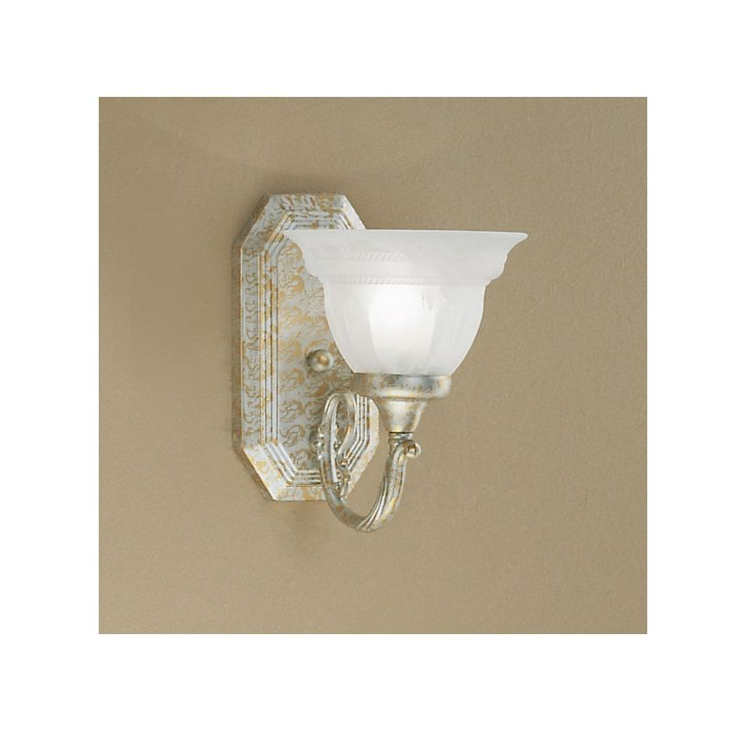 "Classic Lighting 68111 9"" Cast & Glass Sconces from the Yorkshire"