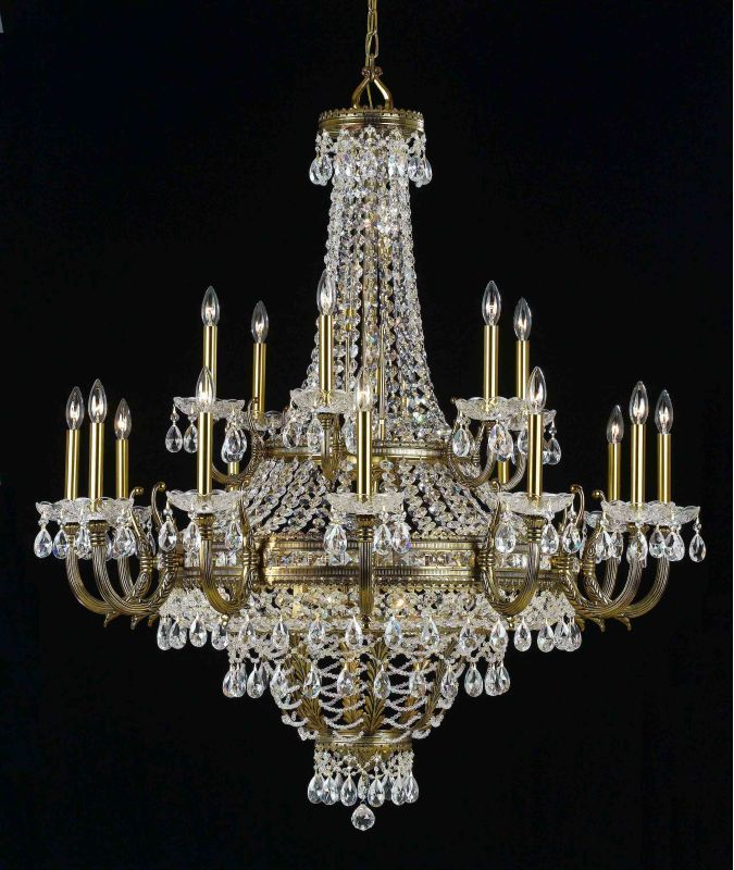 """Classic Lighting 68919-RNB 51"""" Crystal Chandelier from the Contessa Sale $5688.00 ITEM: bci1306437 ID#:68919 RNB CP :"""
