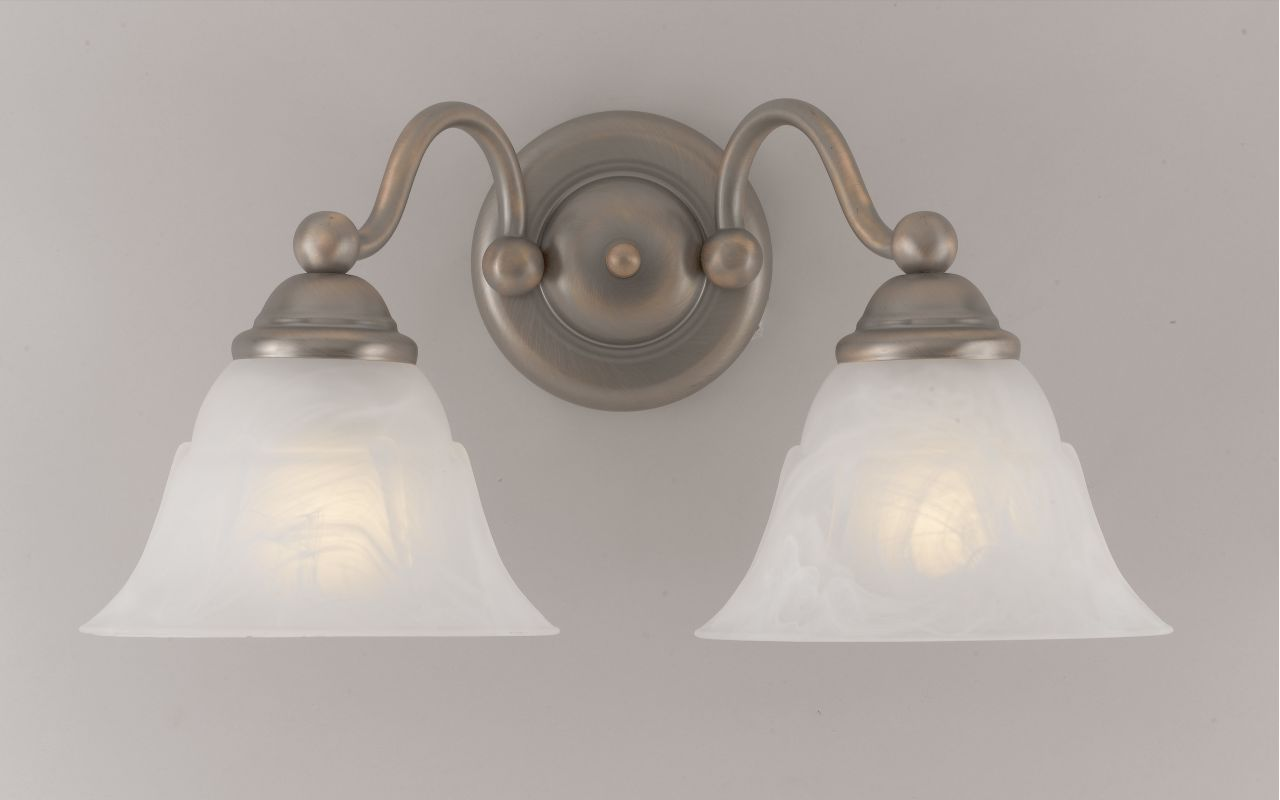 "Classic Lighting 69622 9"" Glass & Steel Sconces from the Providence"