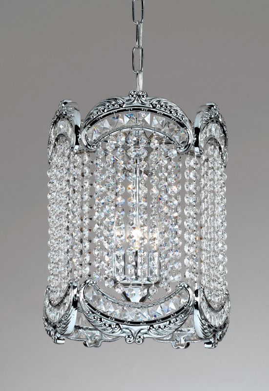 Classic Lighting 69761-CH Emily 1 Light Pendant with Crystal Accents Sale $549.00 ITEM: bci1303242 ID#:69761 CH SC UPC: 729587372064 :