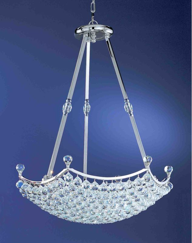 Classic Lighting 69777-CH Solitaire 18 Light Large Pendant with