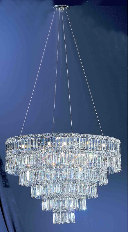 """Classic Lighting 69795-CH 16"""" Crystal Chandelier from the Sofia"""