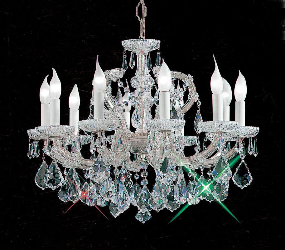 "Classic Lighting 8110-CH 18"" Crystal Traditional Chandelier from the Sale $1891.80 ITEM: bci1305035 ID#:8110 CH SC UPC: 729587326142 :"