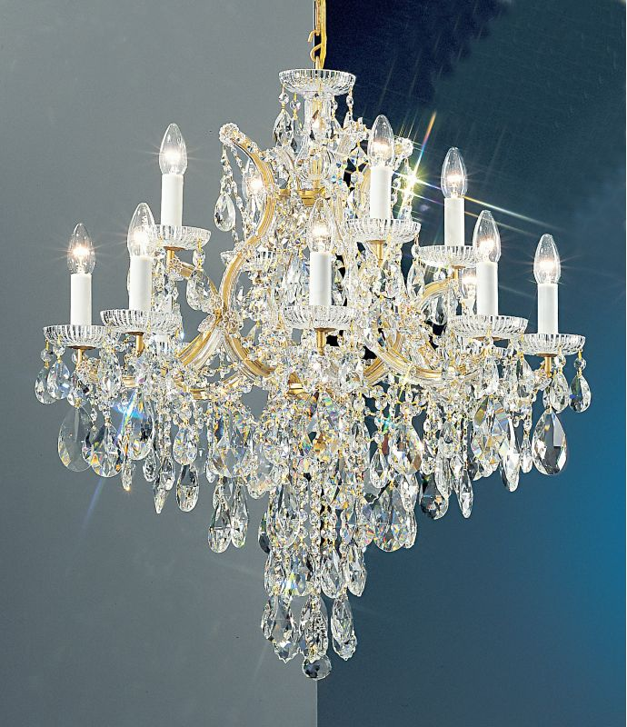 """Classic Lighting 8123-OWG 32"""" Crystal Traditional Chandelier from the Sale $2178.00 ITEM: bci1305043 ID#:8123 OWG C UPC: 729587326630 :"""