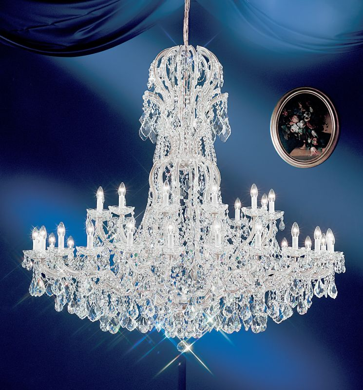 "Classic Lighting 8166-CH 60"" Crystal Traditional Chandelier from the Sale $30036.60 ITEM: bci1306768 ID#:8166 CH S :"