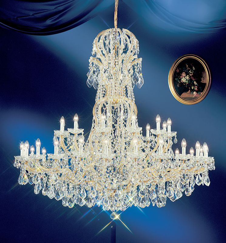 "Classic Lighting 8166-OWG 60"" Crystal Traditional Chandelier from the Sale $27810.00 ITEM: bci1306771 ID#:8166 OWG S :"