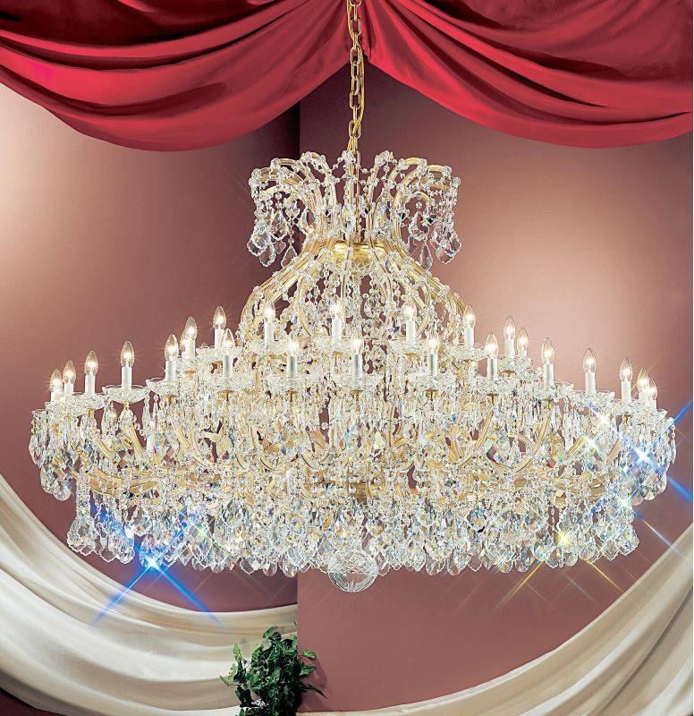 "Classic Lighting 8168-OWG 50"" Crystal Traditional Chandelier from the Sale $21245.40 ITEM: bci1306782 ID#:8168 OWG C :"