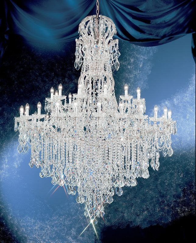"Classic Lighting 8186-CH 80"" Crystal Traditional Chandelier from the Sale $26650.80 ITEM: bci1306807 ID#:8186 CH SC :"