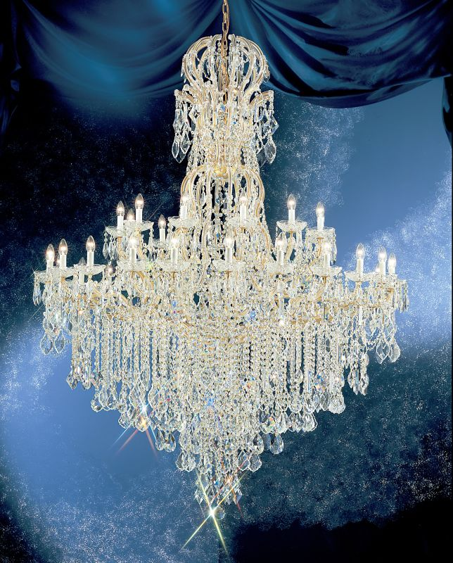 "Classic Lighting 8186-OWG 80"" Crystal Traditional Chandelier from the Sale $25878.60 ITEM: bci1306810 ID#:8186 OWG SC :"