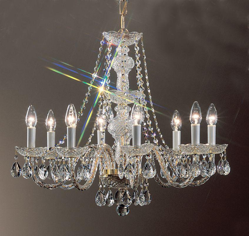 Classic Lighting 8208 Gp I Italian 22 Quot Crystal All Glass