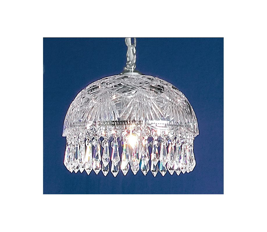 Classic Lighting 8220-CH Prague 1 Light Pendant with Crystal Accents Sale $514.80 ITEM: bci1302983 ID#:8220 CH S UPC: 729587328450 :