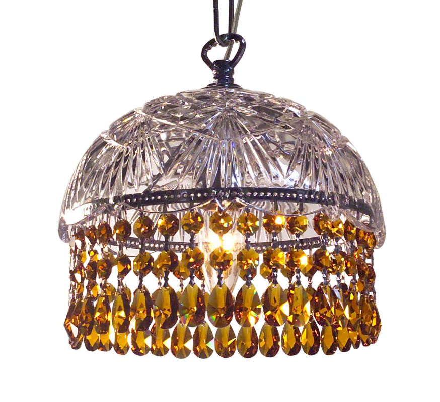 Classic Lighting 8220-CH Prague 1 Light Pendant with Crystal Accents Sale $495.00 ITEM: bci1302981 ID#:8220 CH AM UPC: 729587328429 :
