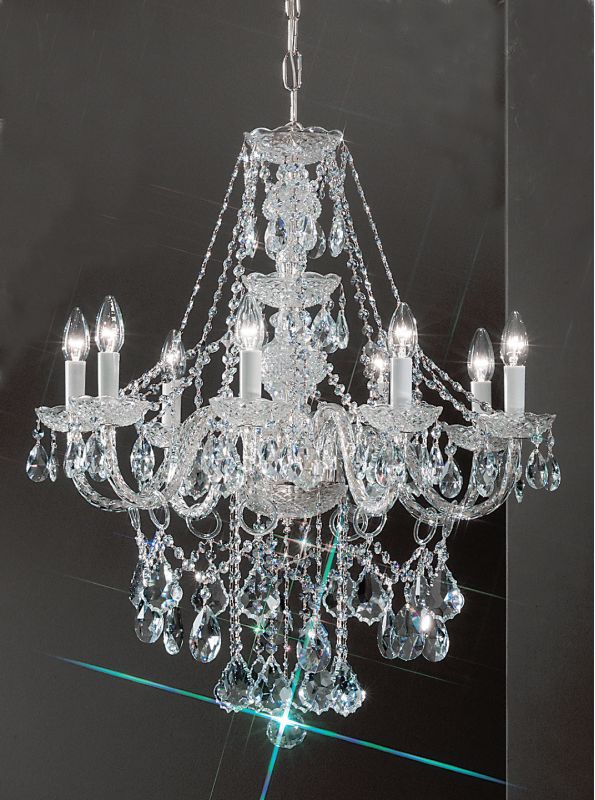 """Classic Lighting 8258-CH 30"""" Crystal All Glass Chandelier from the Sale $1386.00 ITEM: bci1304493 ID#:8258 CH SC UPC: 729587329396 :"""