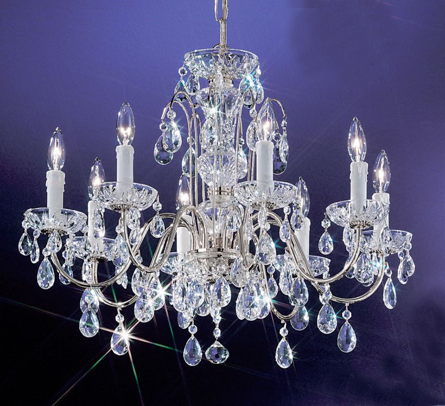"Classic Lighting 8378-CH 20"" Crystal Chandelier from the Daniele"