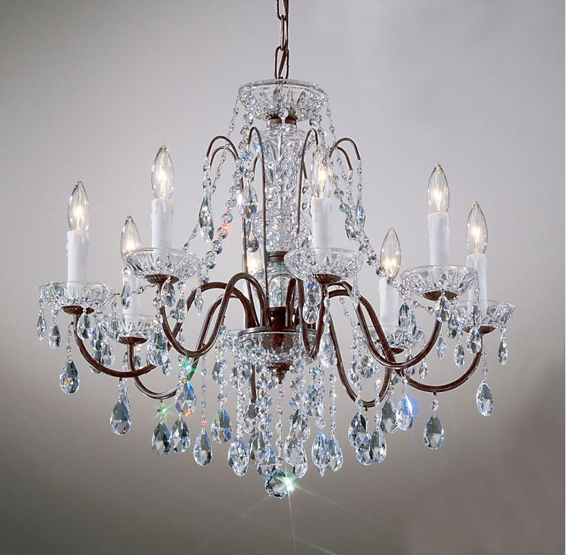 "Classic Lighting 8388-EB 22"" Crystal Chandelier from the Daniele"