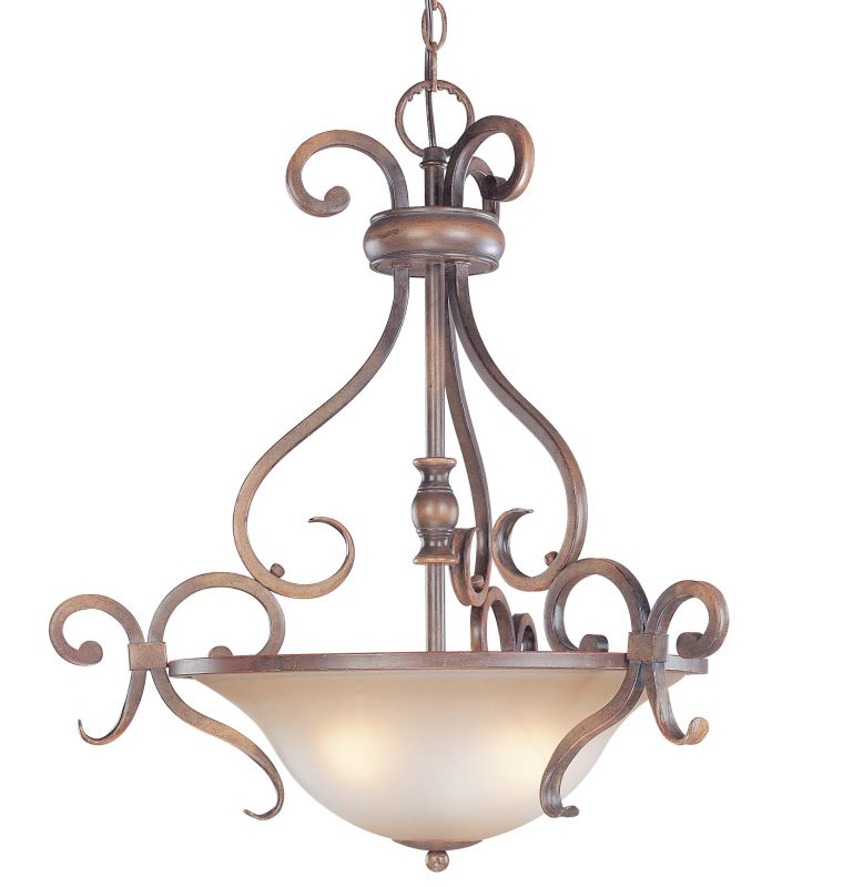 Classic Lighting 92233 Eagle Pointe 3 Light Large Pendant with Frosted Sale $140.25 ITEM: bci1301246 ID#:92233 HRM UPC: 729587376482 :