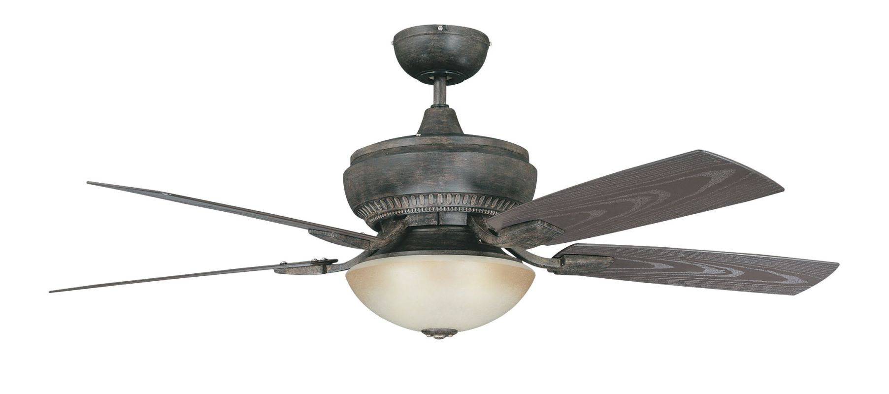 "Concord 52BW5 5 Blade 52"" Ceiling Fan - Blades Included - from the Sale $350.00 ITEM: bci1511424 ID#:52BW5AP :"