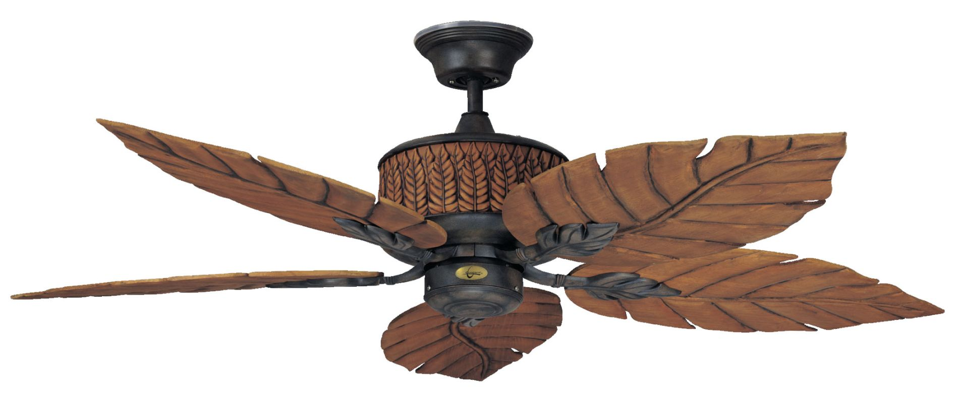 "Concord 52FEB5 Indoor/Outdoor 5 Blade 52"" Ceiling Fan - Blades and"
