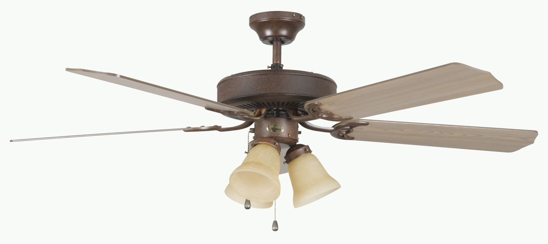 "Concord 52HEH5E Heritage Home 52"" 5 Blade Indoor Ceiling Fan with"