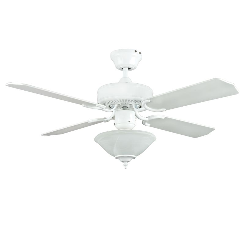 Concord 42HES4E 4 Blade 42 Inch Heritage Square Indoor Ceiling Fan