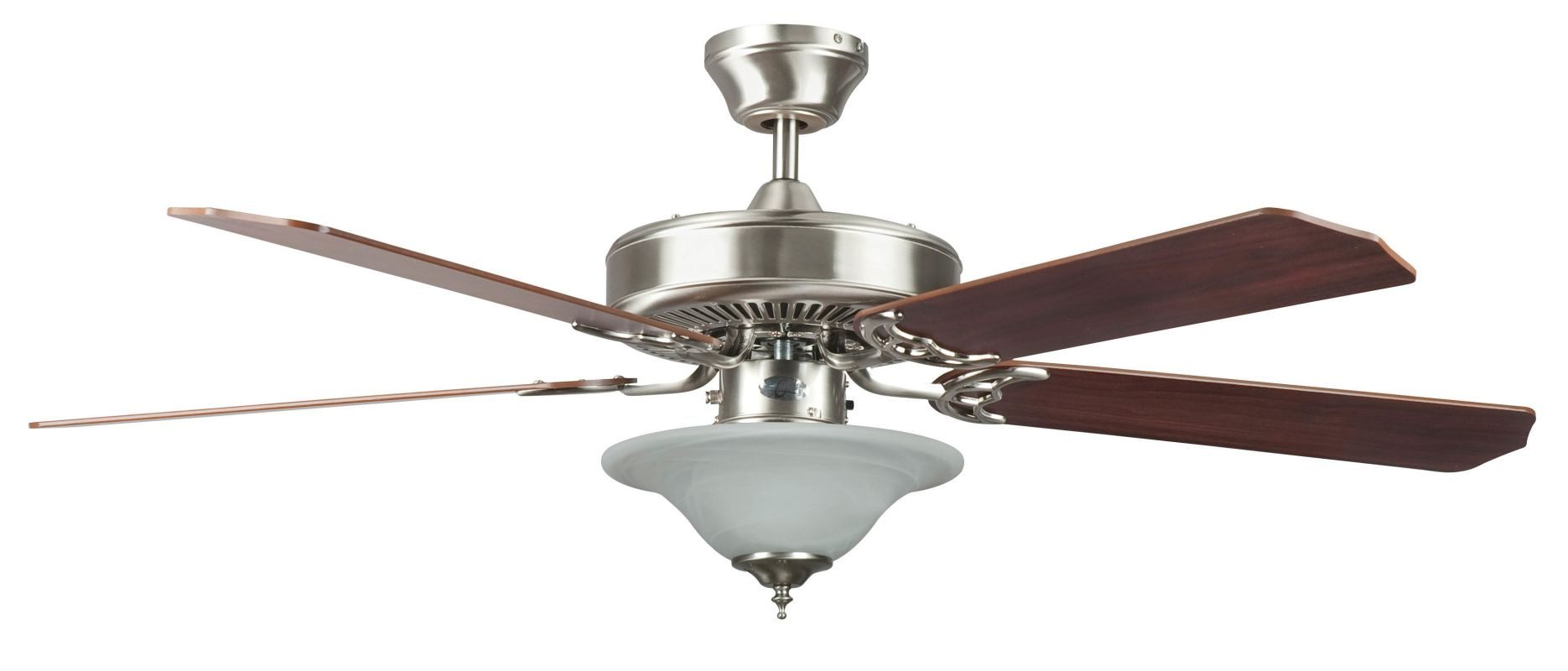 "Concord 52HES5E Heritage Square 52"" 5 Blade Indoor Ceiling Fan with"