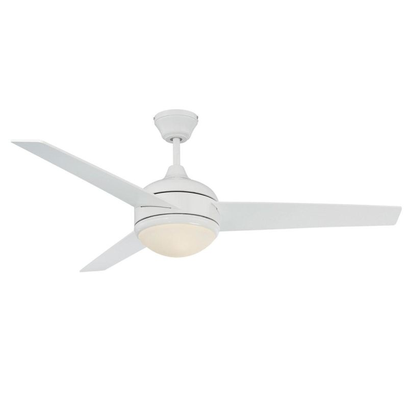 "Concord 52SKY3E 3 Blade 52"" Ceiling Fan - Down light Bulbs and"