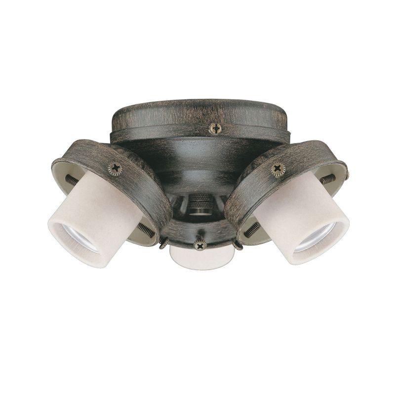Concord Y-306CG 3 Light 180 Watt Light Kit Aged Pecan Ceiling Fan