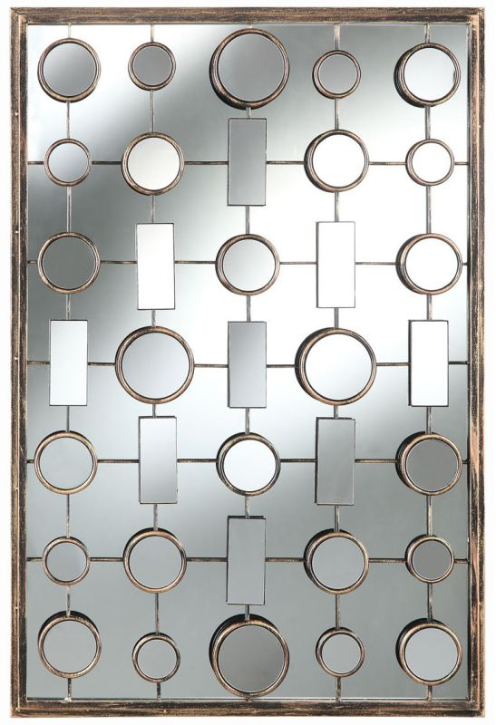 "Cooper Classics 40221 Fairmont 36.25"" X 24.5"" Rectangular Wall Mirror"