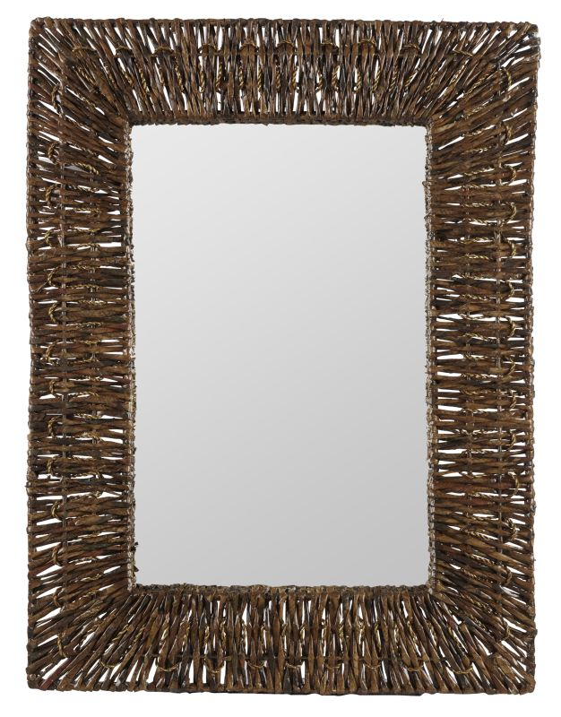 "Cooper Classics 40308 Manhattan 31"" X 23.75"" Rectangular Wall Mirror"