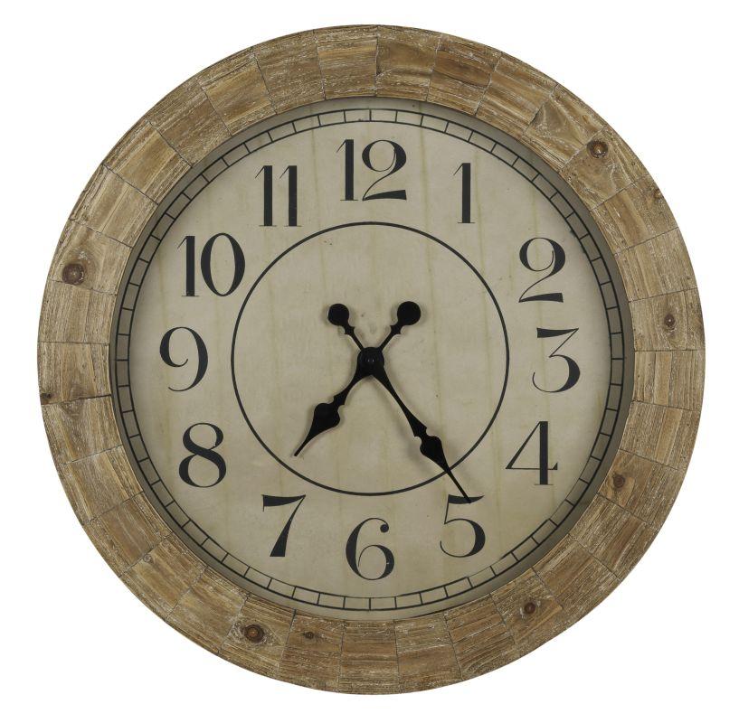"Cooper Classics 40354 Fairbanks 31.25"" X 31.25"" Wall Clock Distressed"
