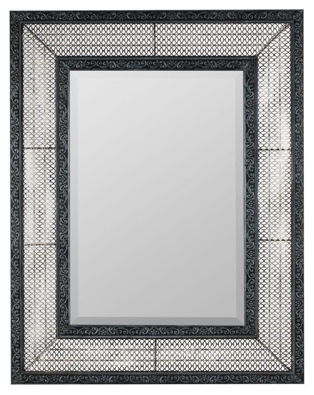"Cooper Classics 40368 Dearborn 41"" X 32.35"" Rectangular Wall Mirror"
