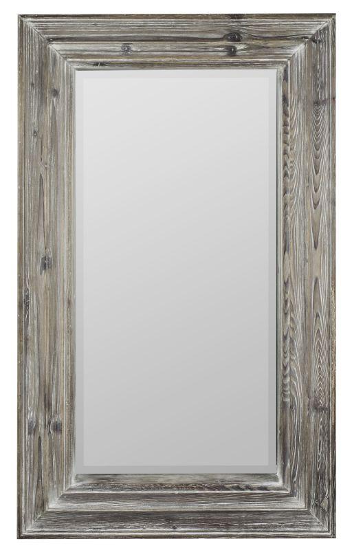 "Cooper Classics 40370 Turner 39.25"" X 23.5"" Wall Mirror White Wash"