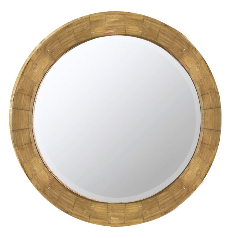"Cooper Classics 40381 Kettler 31.25"" X 31.25"" Round Wall Mirror"