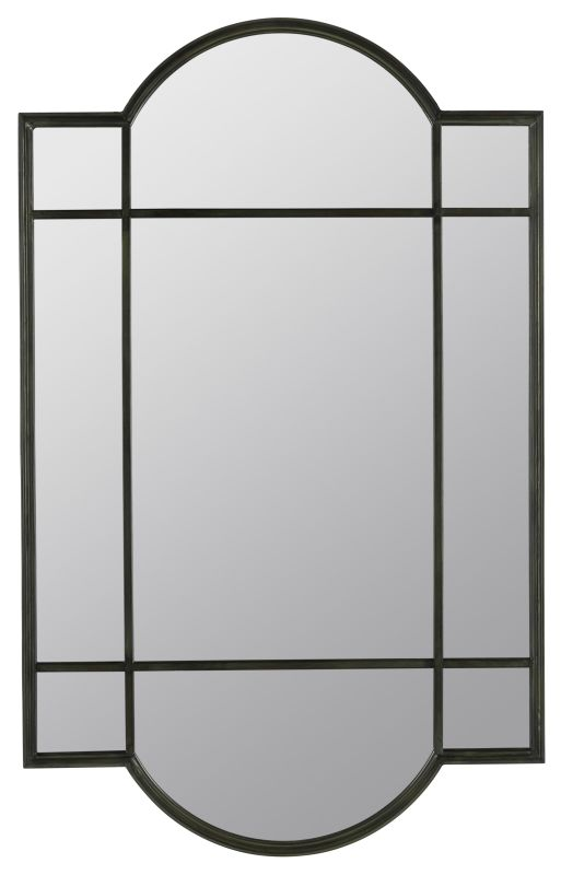 "Cooper Classics 40384 Lowell 36.5"" X 23.5"" Wall Mirror Verdigris Home"