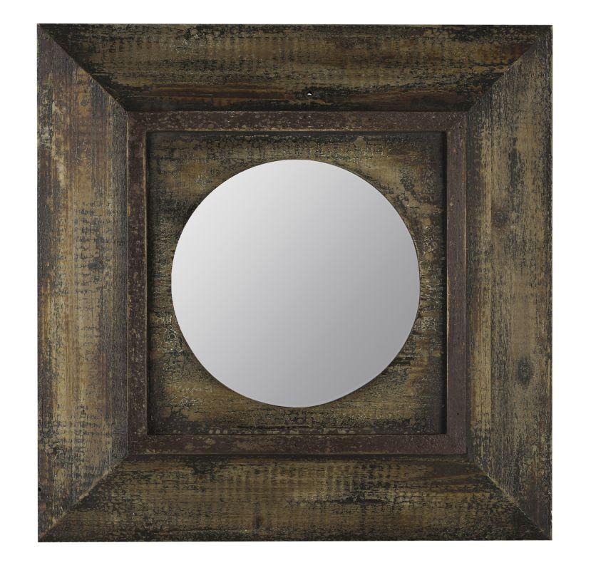 "Cooper Classics 40397 Davenport 22.25"" X 22.5"" Square Wall Mirror"