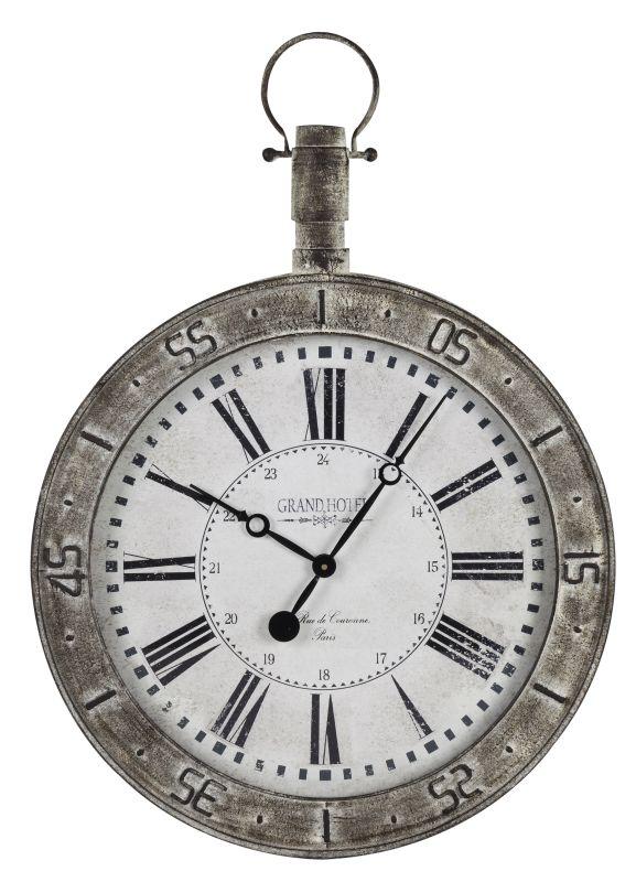 """Cooper Classics 40404 Bolton 29.75"""" X 23.5"""" Wall Clock Metal"""