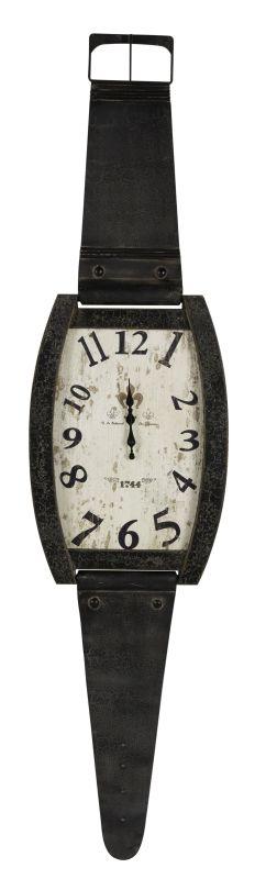 "Cooper Classics 40443 Hambish 59.5"" X 14.5"" Wall Clock Distressed Flat"