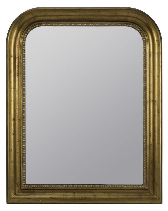 """Cooper Classics 40458 Sepik 38.25"""" X 30.5"""" Arched Wall Mirror Antique"""