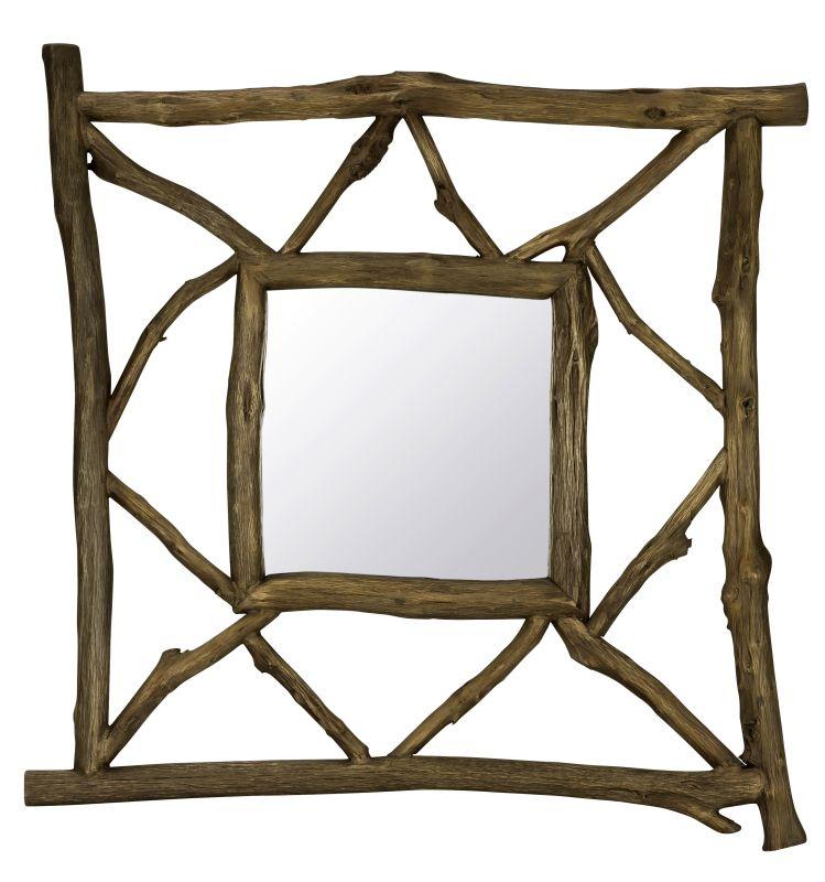 """Cooper Classics 40492 Westin 40.75"""" X 40.75"""" Square Wall Mirror"""