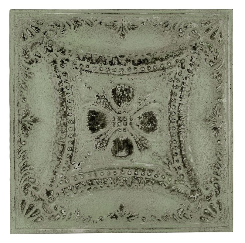 """Cooper Classics 40498 Lana 24.75"""" X 24.75"""" Wall Hanging Antique French"""