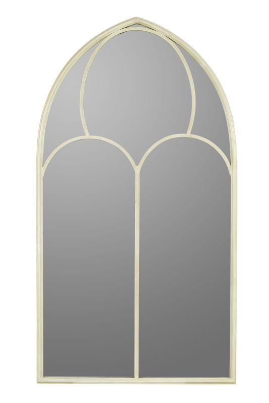 """Cooper Classics 40581 Urbain 44"""" X 24"""" Arched Wall Mirror Cream Home"""