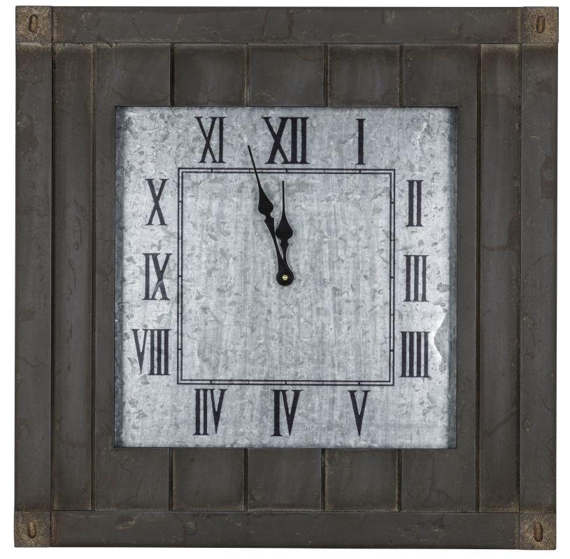 "Cooper Classics 40657 Rutledge 23.75"" X 23.75"" Wall Clock Gray Washed"