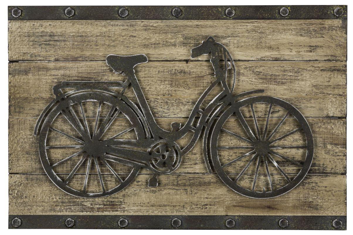 """Cooper Classics 40666 BriX ton 15.5"""" X 23.5"""" Wall Hanging Natural Wood"""