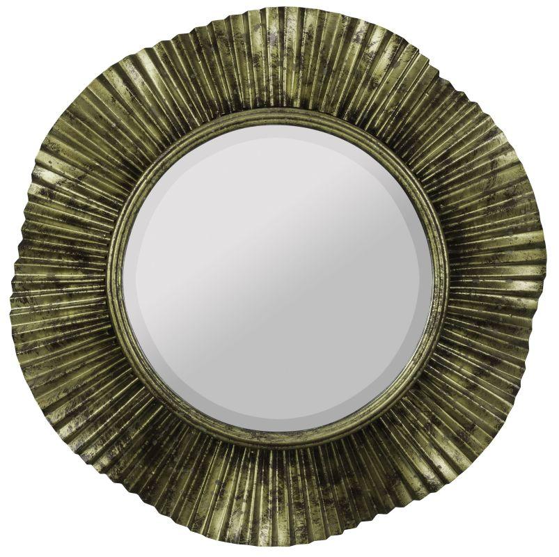 """Cooper Classics 40724 Robin 16.75"""" X 16.75"""" Wall Mirror Antique Gold"""